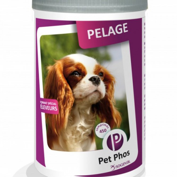 Pet Phos Special Pelage 450 tablete