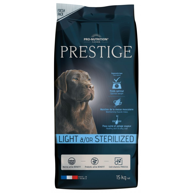 FLATAZOR PRESTIGE LIGHT / STERILIZED 15 KG