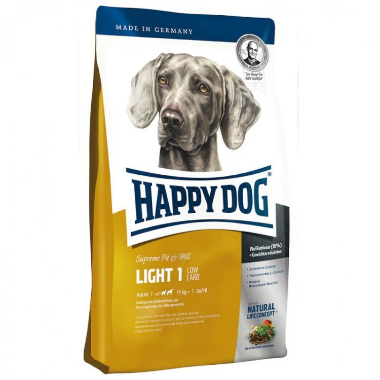 Happy Dog Supreme Fit & Well Light 1 - Low Carb 12.5 kg