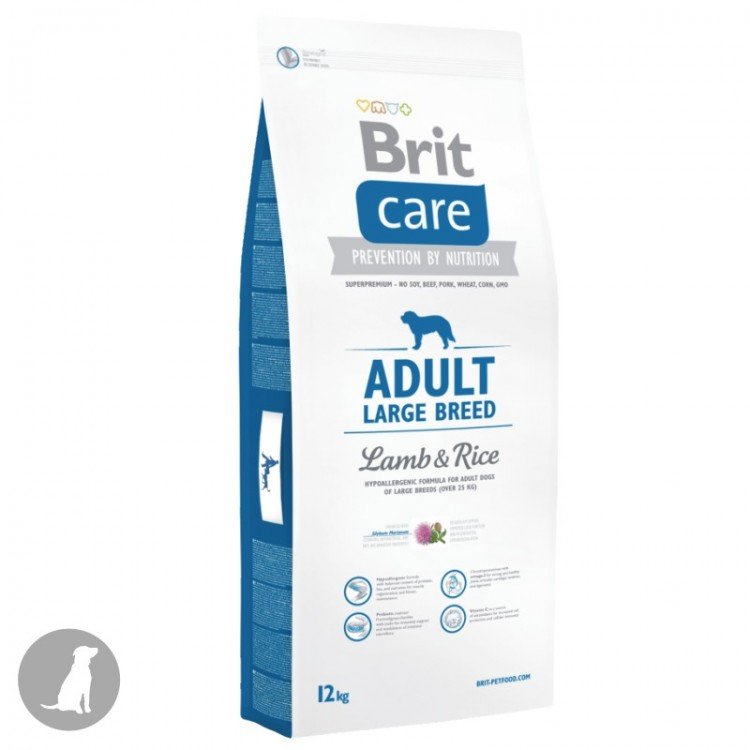 Brit Care Adult Large Breed Miel si Orez 24 kg