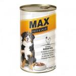 MAX / Hrană umedă câini cu pui - 20 bucati