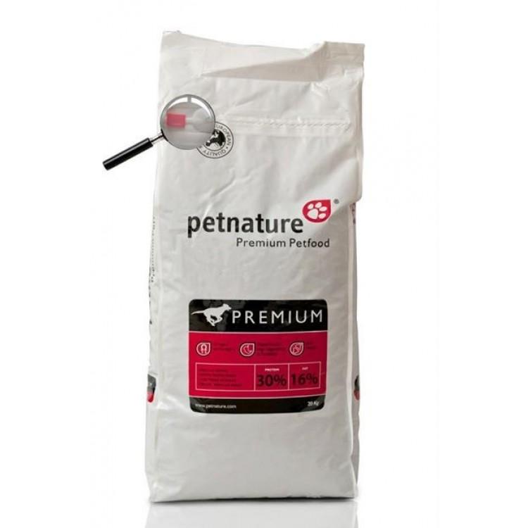 Petnature Adult Premium - Hrana uscata premium - 20 kg