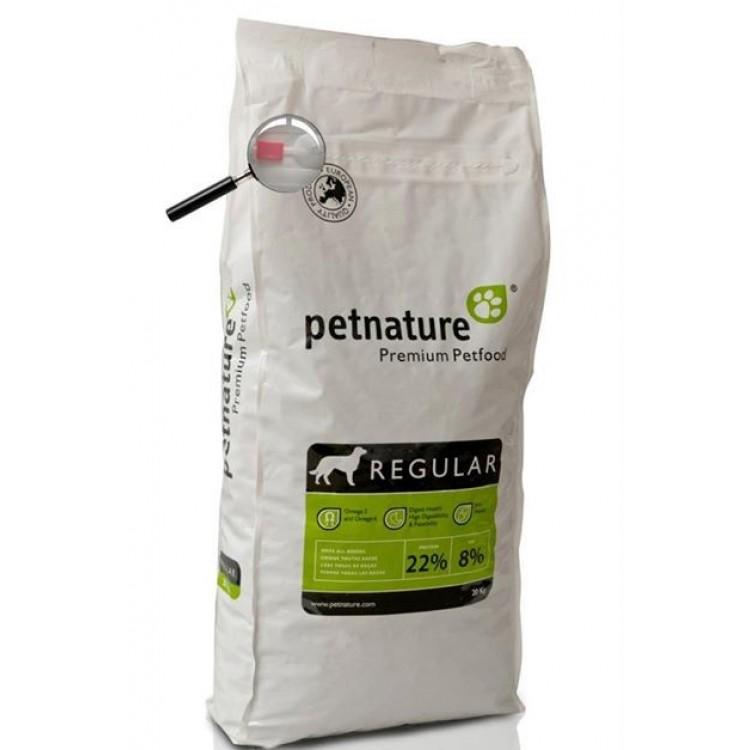 Petnature Adult Regular - Hrana uscata premium - 20 kg