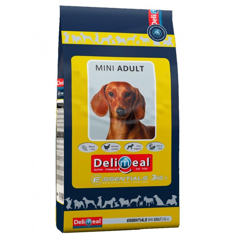 DELIMEAL ESSENTIALS MINI ADULT - 9 kg