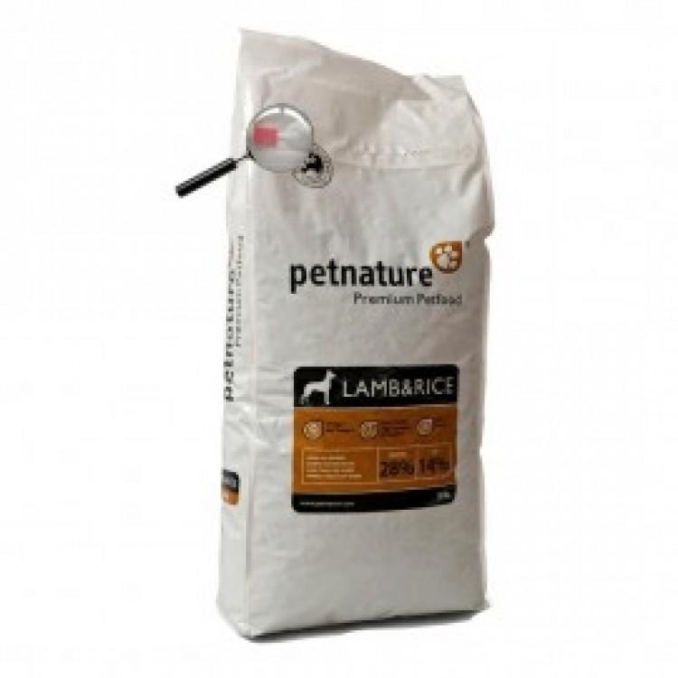 Petnature Adult Lamb & Rice - Hrana uscata premium - 20 kg