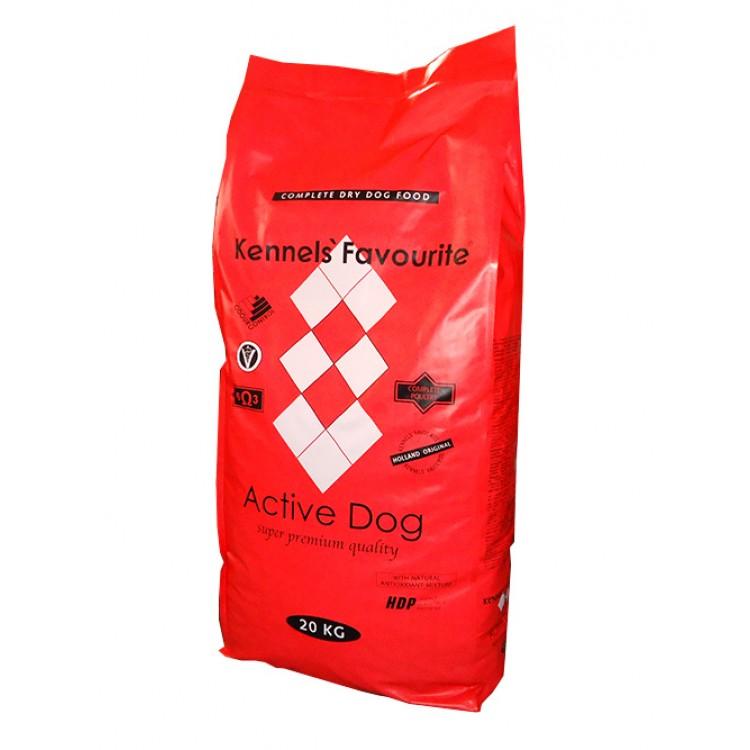 KENNELS FAVOURITE ACTIVE DOG 20 KG