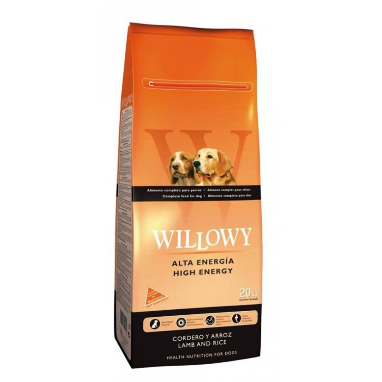 WILLOWY HIGH ENERGY MIEL SI OREZ 20 Kg