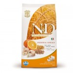 2 x N&D Low Grain Adult Maxi Peste si Portocale - 12 Kg